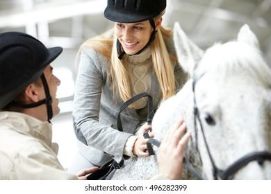 Hobby of horseback riding