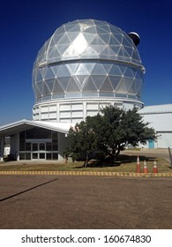 Hobby-Eberly Telescope at the McDonald Observatory in Texas