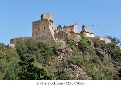 Hocheppan castle in South Tyrol, Northern Italy