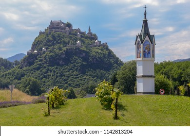 Hochosterwitz Castle is considered to be one of Austria's most impressive medieval castles, Carinthia, Austria