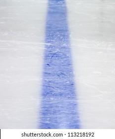Hockey blue line