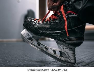 Hockey equipment. training of hockey players.