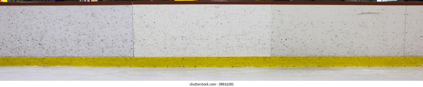 Hockey Rink Boards Panoramic