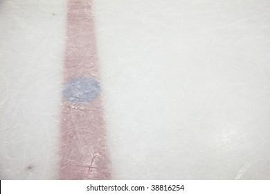 Hockey Rink Red Line