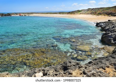Hof Dor - Beach Nature Reserve, picturesque beach, a coastal strip with more bays and inlets and unusual geological formations in northern Israel
