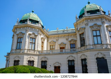 Hofburg imperial palace of Habsburg dynasty in Wien, Austria. Concept of euopean landmarks and architecture in Vienna.