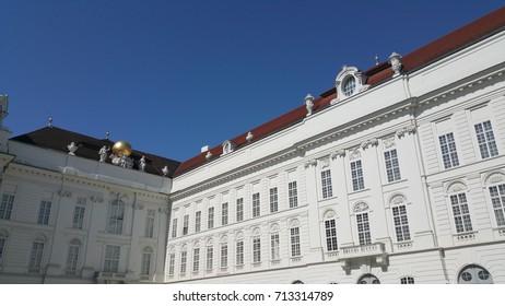 Hofburg palace, Josefplatz, Vienna, Austria