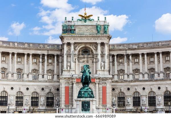 The Hofburg in Vienna