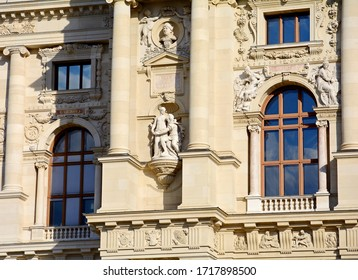 Hofburg. Vienna. Austria. 06/23/2019. The palace and park complex. Winter residence of the Habsburgs. Hofburg is located in the city center.