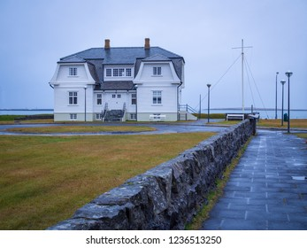 Hofdi house  in northern Reykjavik, the capital city of Iceland, built in 1909.