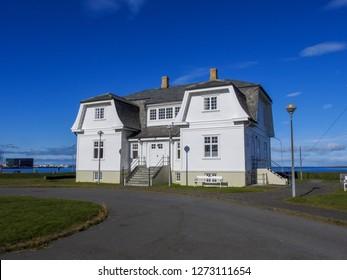Hofdi House, Reykjavik, Iceland, Sept 2018