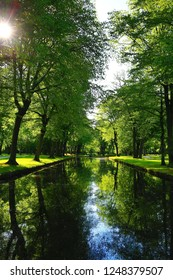 Hofgarten in Bayreuth is a city in Bavaria, Germany, with many historical attractions