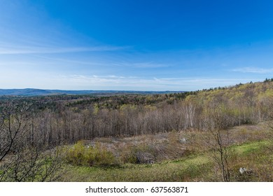 Hogback Mountain Scenic Overlook in Green Mountain State Park in Vermont