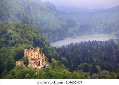 Hohenschwangau Castle in Bavaria,German