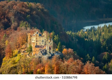 Hohenschwangau Castle in Fussen, Germany