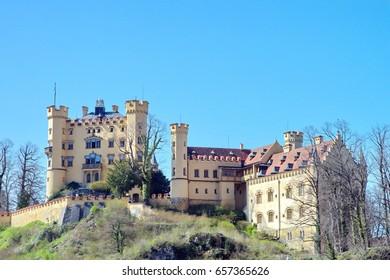 Hohenschwangau Castle in Fussen Germany