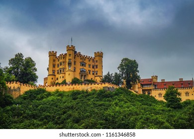 Hohenschwangau Castle or Schloss Hohenschwangau is a 19th-century palace in southern Germany. It was the childhood residence of King Ludwig II of Bavaria