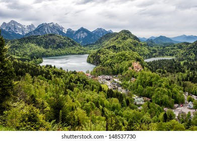 Hohenschwangau landscape
