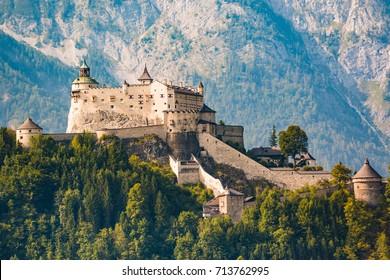 Hohenwerfen castle and fortress, Werfen, Austria