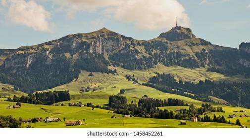 Hoher Kasten, Canton Appenzell, Switzerland