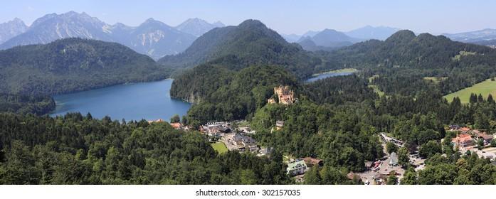 Hoheschwangau Castle in Bayern region