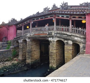 HOI AN, VIETNAM -1 AUGUST 2016- The well preserved Ancient Town of Hoi An (formerly Hai Pho, Faifo, or Faifoo) on the Thu Bon River in Central Vietnam is a UNESCO World Heritage Site.