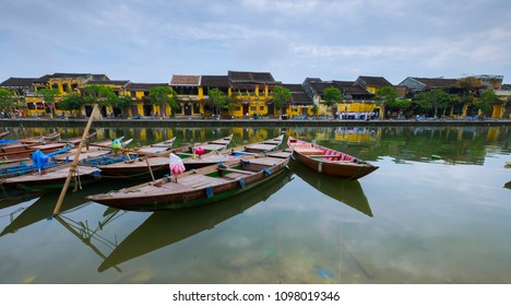 Hoi An ancient town, UNESCO world heritage, at Quang Nam province. Vietnam. Hoi An is one of the most popular destinations in Vietnam