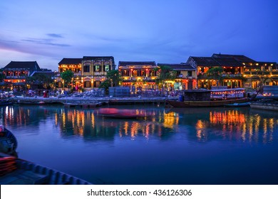 Hoi An Ancient Town, Vietnam in the evening
