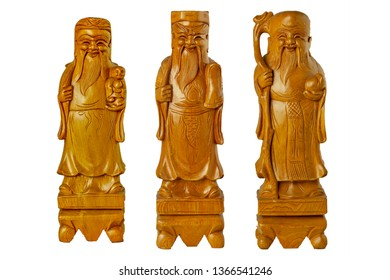 HOK LOK SIEW or FU LU SHOU three gods of china is famous god Because respect from chinese people.