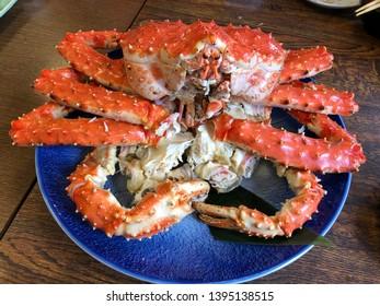 Hokkaido king crab boiled Taraba Kani