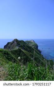 北海道積丹、上井岬散策道