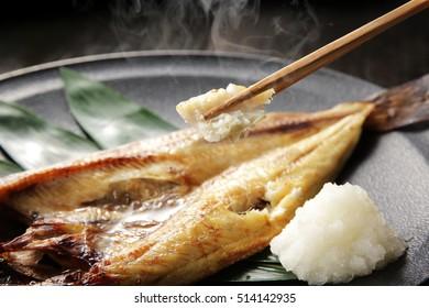 Hokke grilled fish