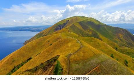 Holbung Hill Samosir Island, Toba Lake Sumatera Indonesia