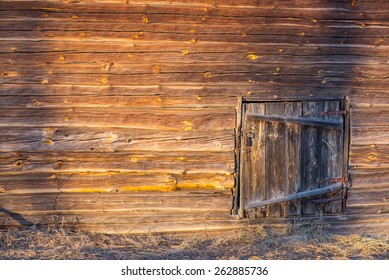 hold wooden barn wall