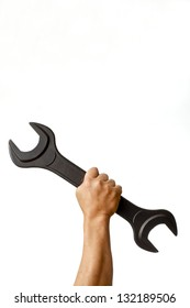 Hold a wrench