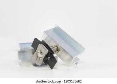 Holder for solar modules