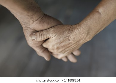 Holding hands,love concept