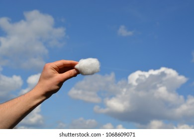 Holding a piece of cloud in your hand