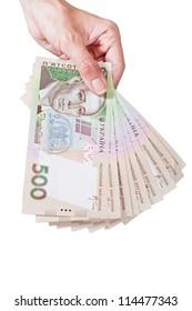 Holding ukraine money