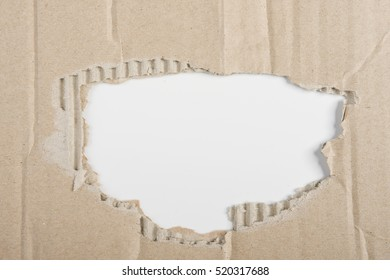 the hole in a carton
