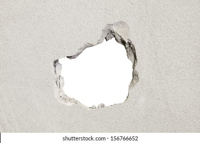 hole in the concrete, the conceptual background