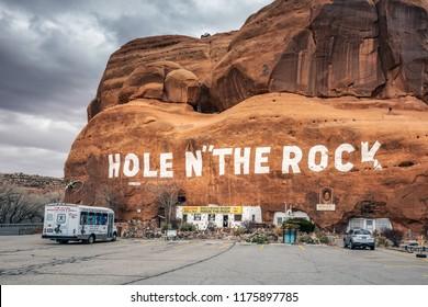Hole N The Rock near Moab, Utah