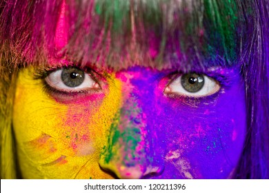 Holi Eyes