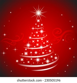 Holiday background for greeting cards, banners, presentations, decorations.