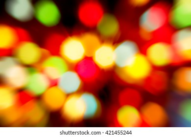 Holiday bokeh. Abstract  background