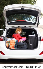 A Holiday with Children and car