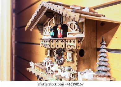 Holiday in Germany - Cuckoo Clock in Lake Titisee, Black Forest
