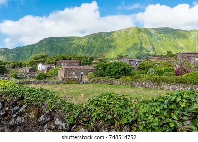 Holiday homes in Faja Grande on the island of Flores in the Azores, Portugal