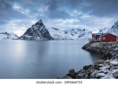 Holiday house in Norway near Hamnoy
