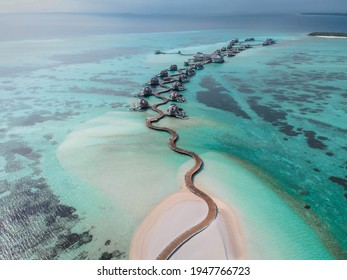 Holiday in a luxury resort in the Maldives